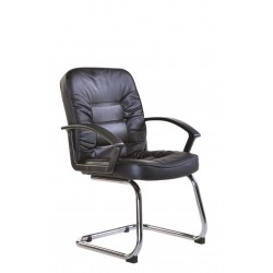 Hertford Leather Visitor Chair HER1001C1